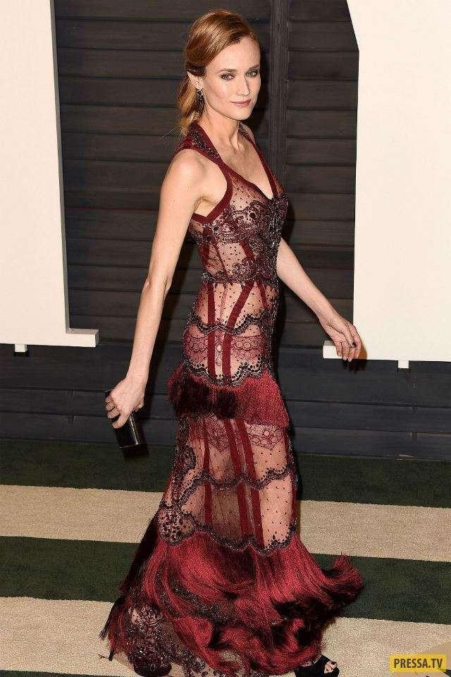 Самые откровенные и рискованные платья знаменитостей (28 фото)