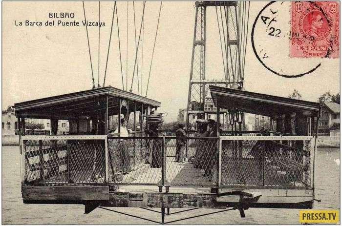 Мост-транспортёр или летающий мост (33 фото+1 видео)