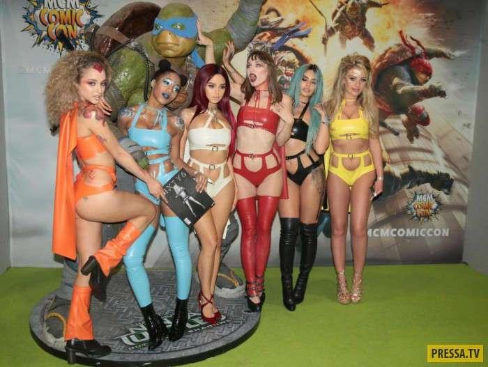 Удивительные костюмы любителей аниме, фантастики и комиксов (18 фото)