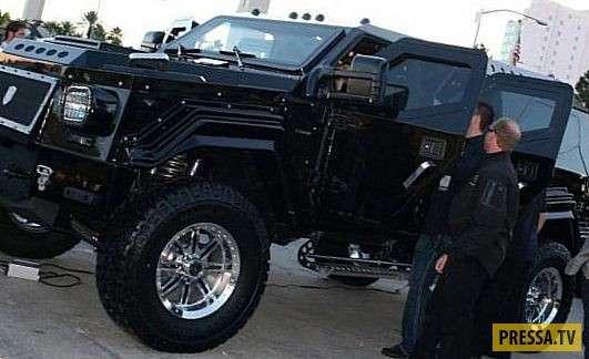 ТОП-10 самых дорогостоящих бронированных машин (10 фото+1 видео)
