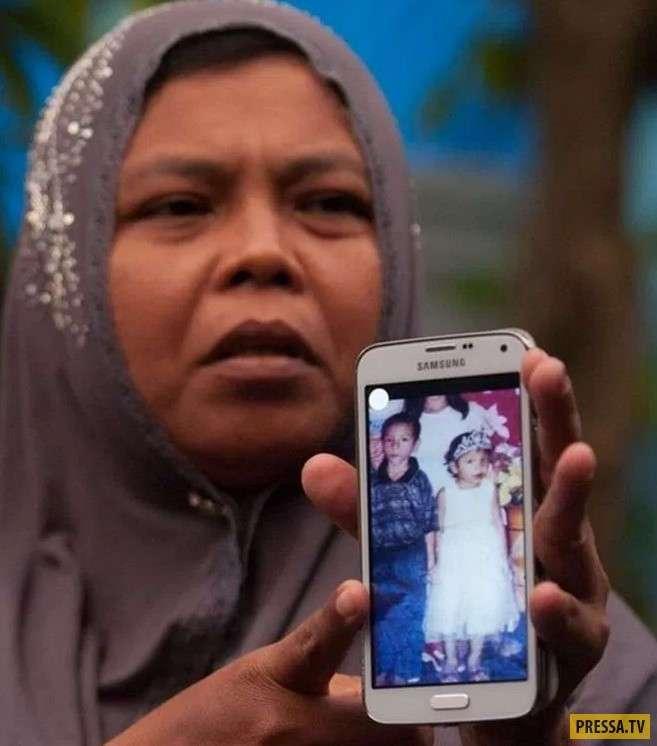 10 лет назад смертельное цунами поглотило маленькую девочку. Но однажды мужчина увидел знакомый взгляд... (7 фото)
