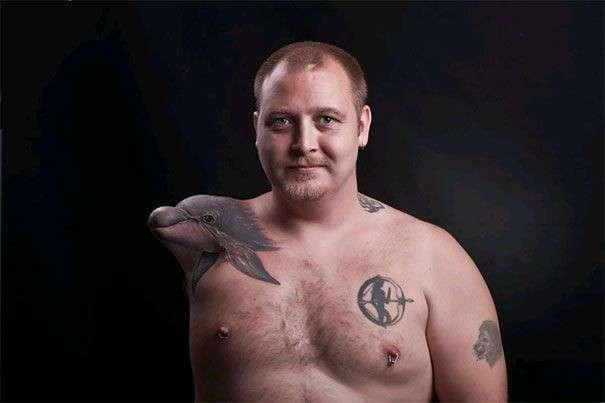 50 невероятных 3D татуировок