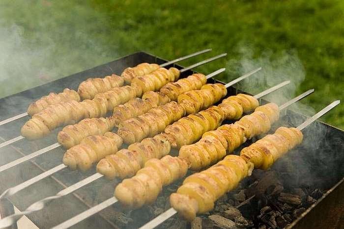 Скоро праздники и пора запасаться рецептами блюд на мангале