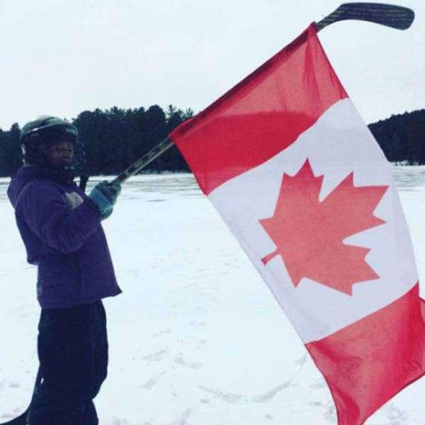 Такое можно увидеть только в Канаде