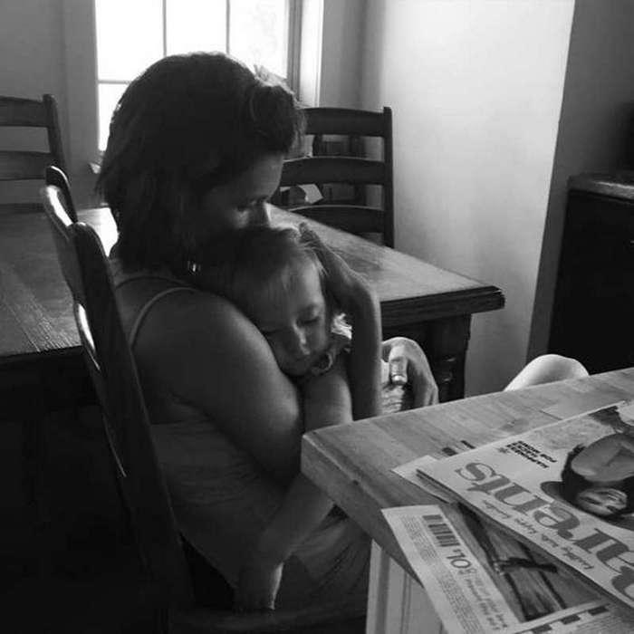 Дети растут очень быстро. Цените каждый момент… Её слова растрогали тысячи женщин
