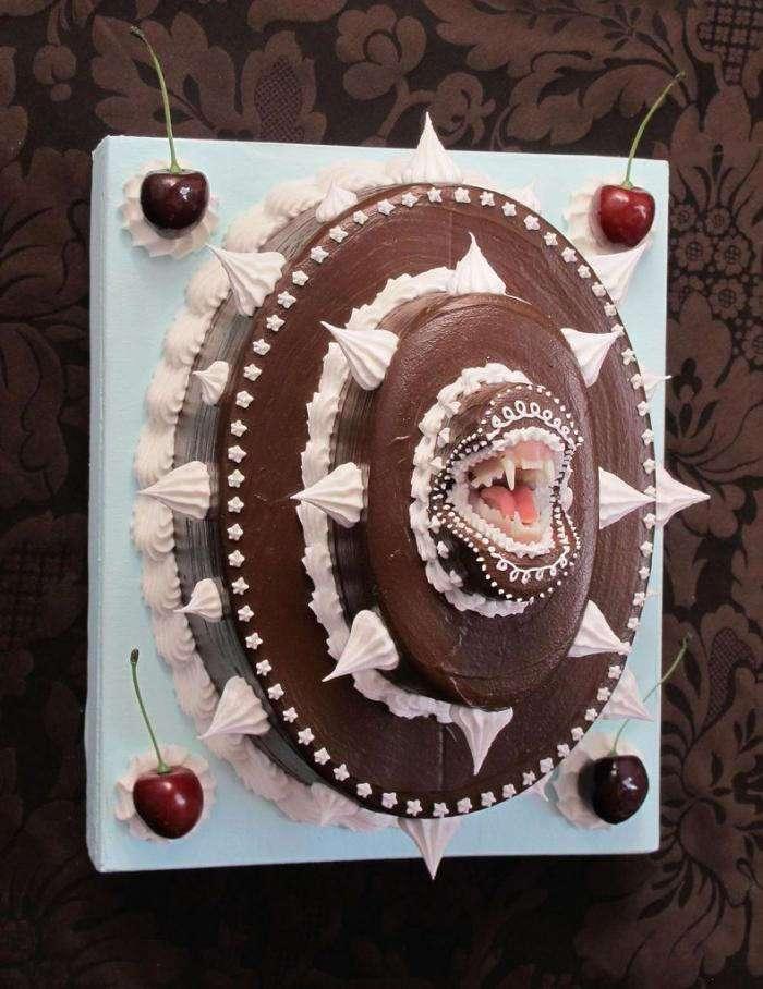 Хищные тортики от Scott Hove (7 фото)