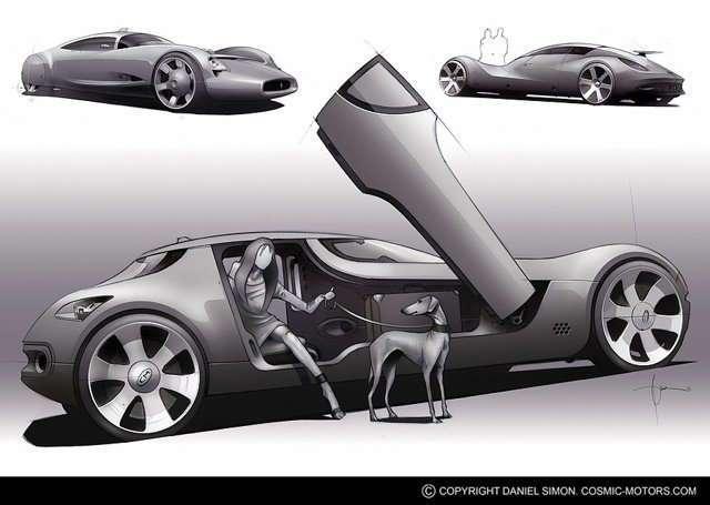 Транспорт будущего (17 фото)