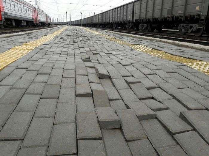 Фото, которые возможно было сделать только в России. Часть 68 (39 фото)