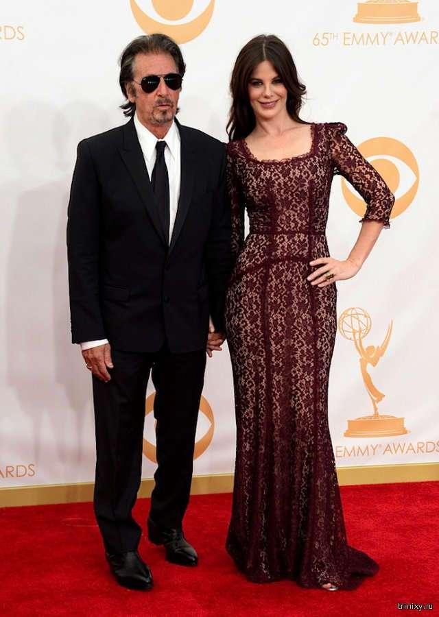 Аль Пачино со своей возлюбленной Люсией Сола, которая на 39 лет его моложе (14 фото)