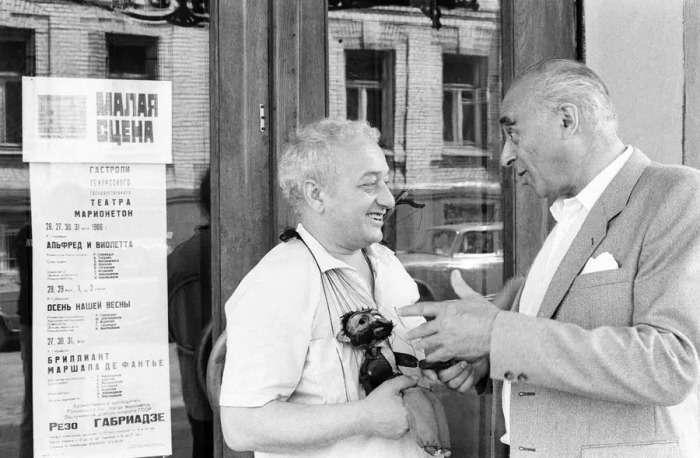 О них знали все! 30 редких фотографий советских знаменитостей
