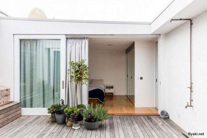 Необычные апартаменты с уединенной террасой на крыше (19 фото)