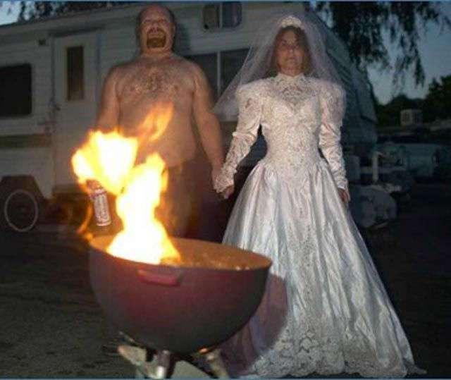 Ужасные свадебные фотографии (62 фото)