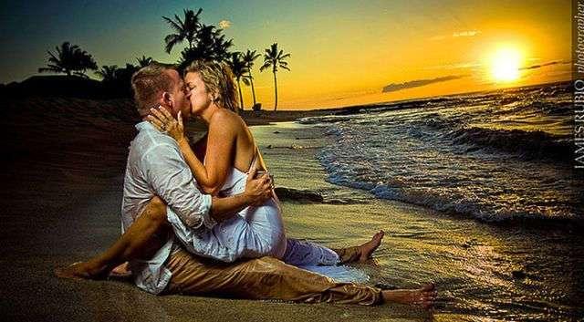 Экстремальные свадебные фотографии (27 фото)