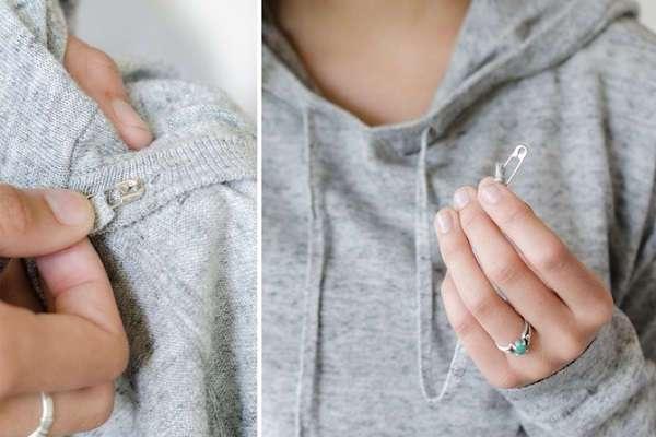 15 хитростей, которые решат мелкие проблемы с вашим гардеробом