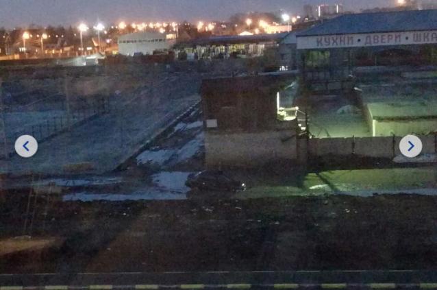 Тюменцы сняли фотосериал о луже-капкане. ФОТО
