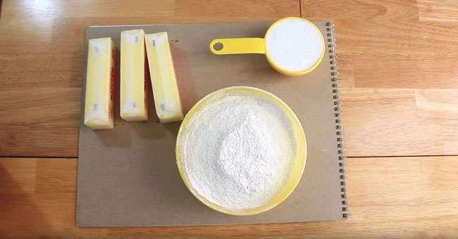 Нежное песочное печенье из 3-х ингредиентов за полчаса. Удивите свою семью!