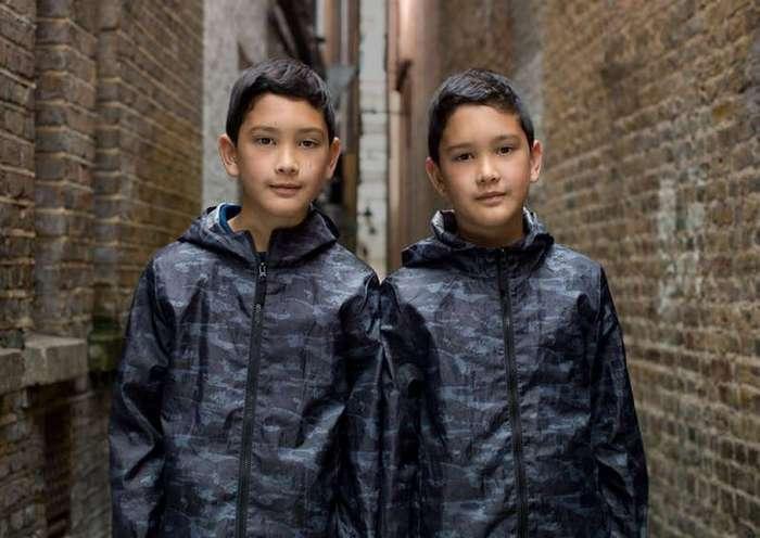 Фотографии близнецов в фотопроекте Петера Зелевски (15 фото)