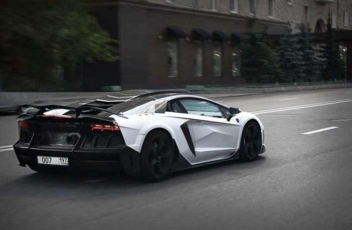 Суперкары Lamborghini Aventador Carbonado by Mansory в России (20 фото)