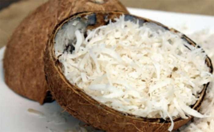Вот что будет, если измельчить кокосовую стружку в комбайне. Обязательно сделаю!