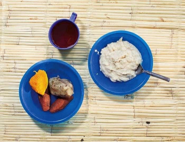 А что у вас? Соцпроект, показавший завтраки детей из разных стран мира!