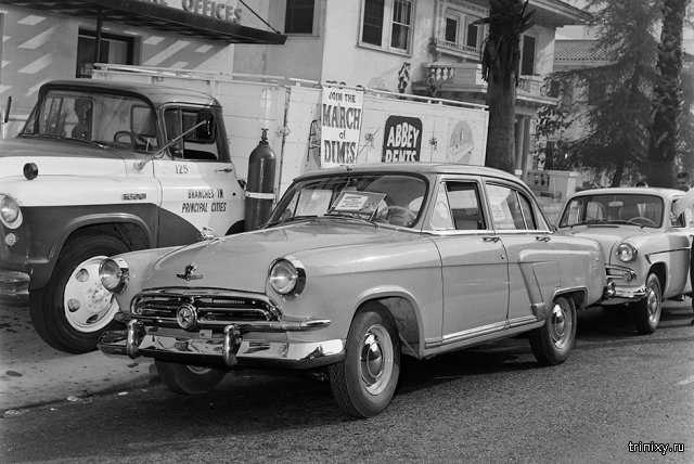 Гордость отечественного автопрома - наши машины, популярные за рубежом (9 фото)