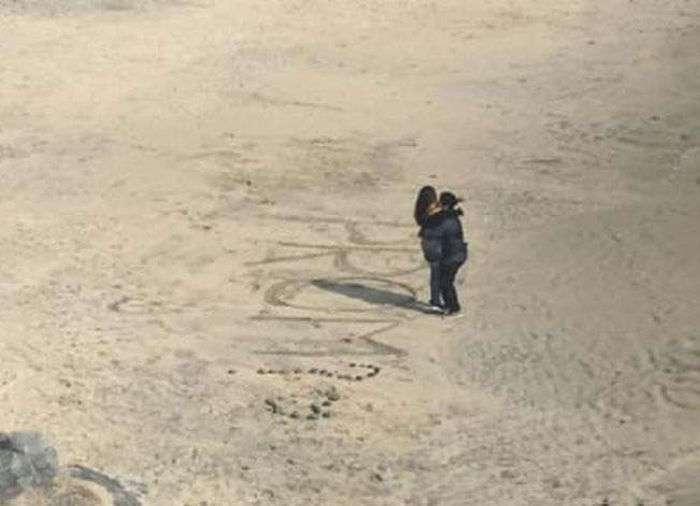 Романтическая история со счастливым финалом (10 фото)