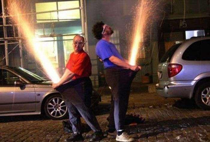 Мужчины развлекаются (47 фото)