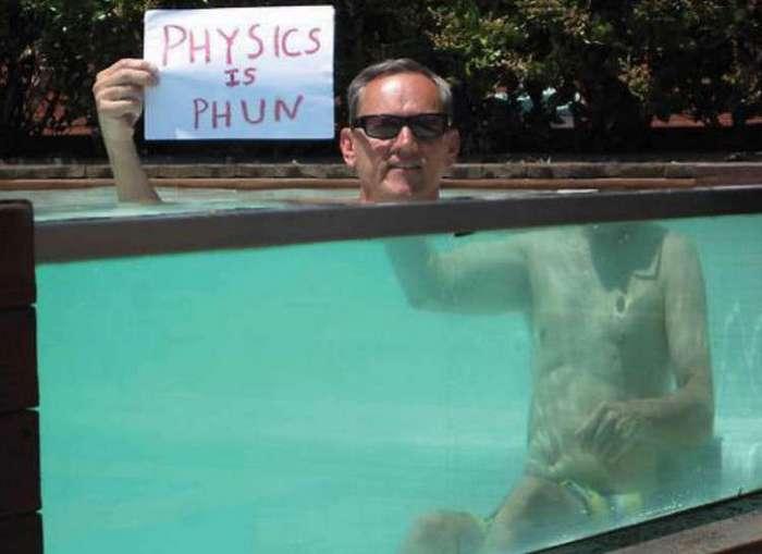 Жить становится намного веселее, если знаешь законы физики