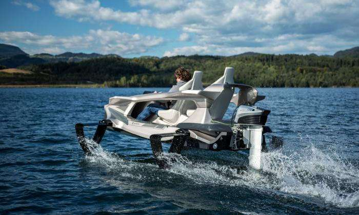 -Летающий- катер и просто крутой водный транспорт (6 фото)
