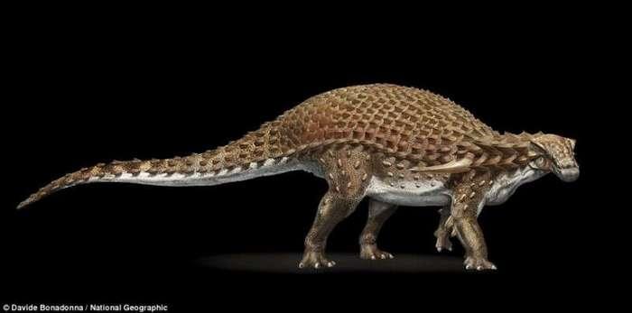 Эта 110-миллионолетняя окаменелость динозавра выглядит как статуя (6 фото)