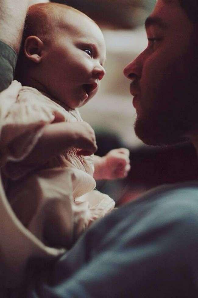 20 милых фотографий счастливых пап и их малышей (20 фото)