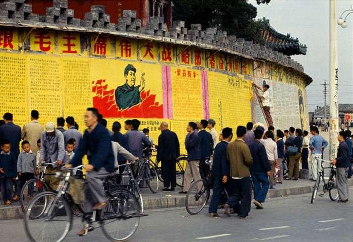 Машина времени. Китай 1966 (19 фото)