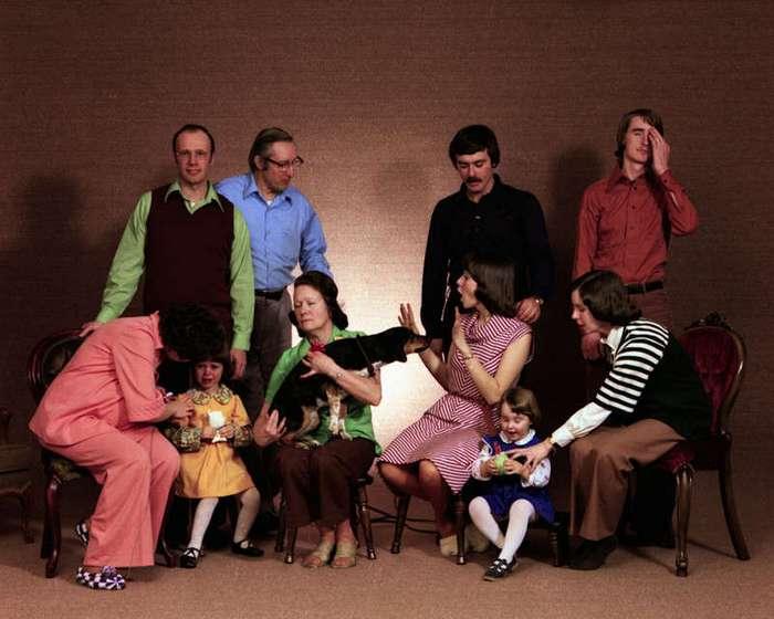 Перлы из семейных альбомов (16 фото)
