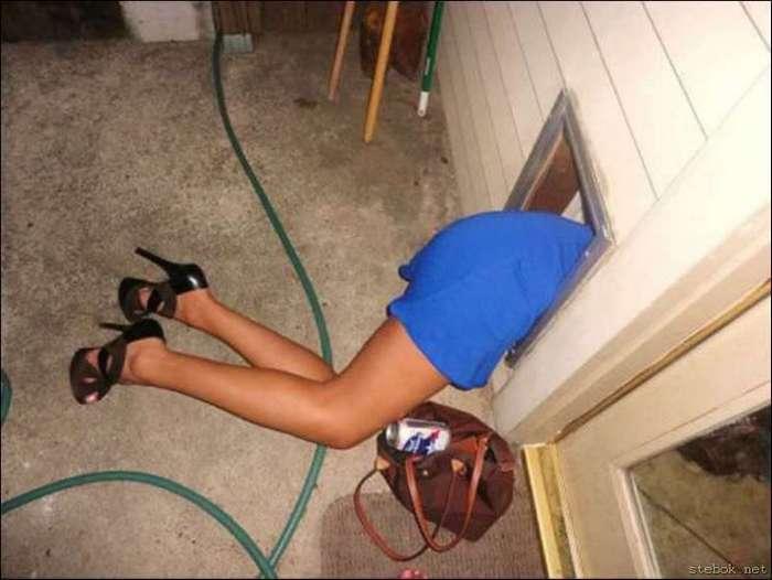 Пьяные люди непредсказуемые (16 фото)