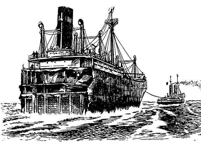 Удивительная история -парохода с сокровищами- (4 фото)