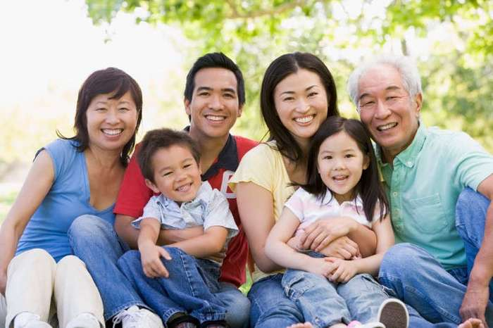 Почему у азиатов именно такой разрез глаз? (5 фото)