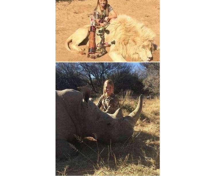 10 охотничьих фотографий, которые вызвали негативный общественный резонанс (10 фото)