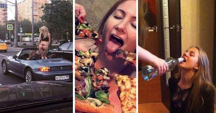 Великий и ужасный женский алкоголизм, который разъедает мозг (22 фото)