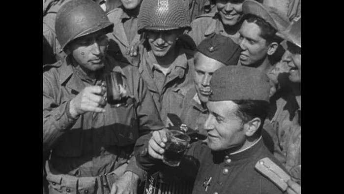 Отрывок интервью американского ветерана Второй мировой про Арденны и русских на Эльбе (3 фото)