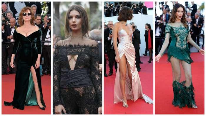 Канны-2017: чересчур откровенные наряды знаменитостей (22 фото)