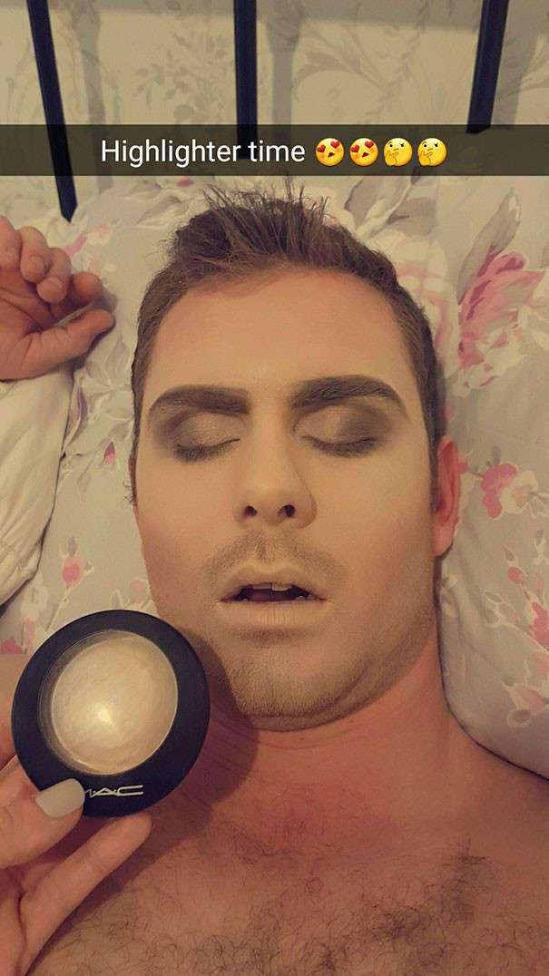 Спящий красавец, или месть обманутой женщины (11 фото + 1 видео)