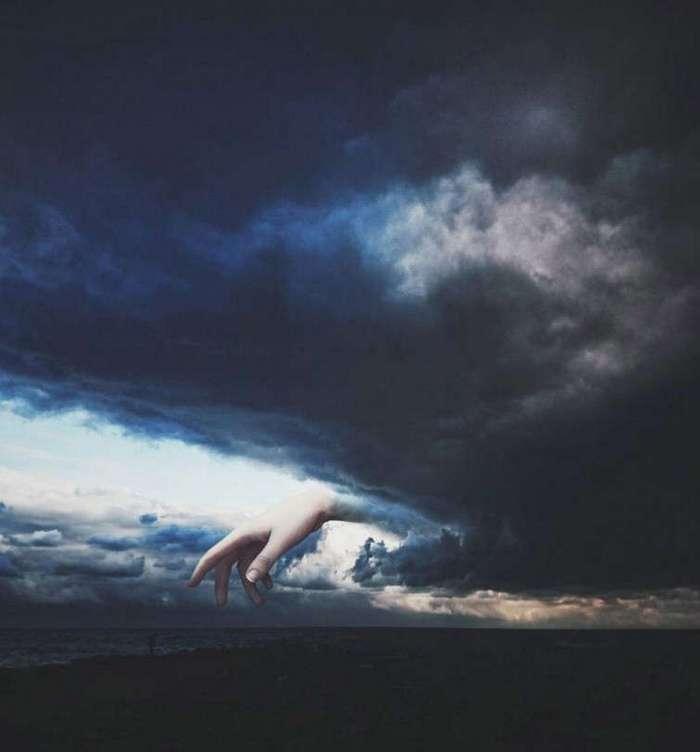 Художник создаёт тёмные многозначительные коллажи идеально подходящие к мудрым цитатам (29 фото)
