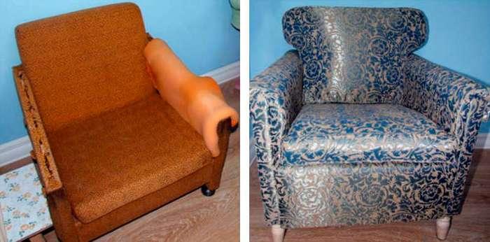Не торопитесь выбрасывать старую мебель, она может вам еще хорошо послужить!
