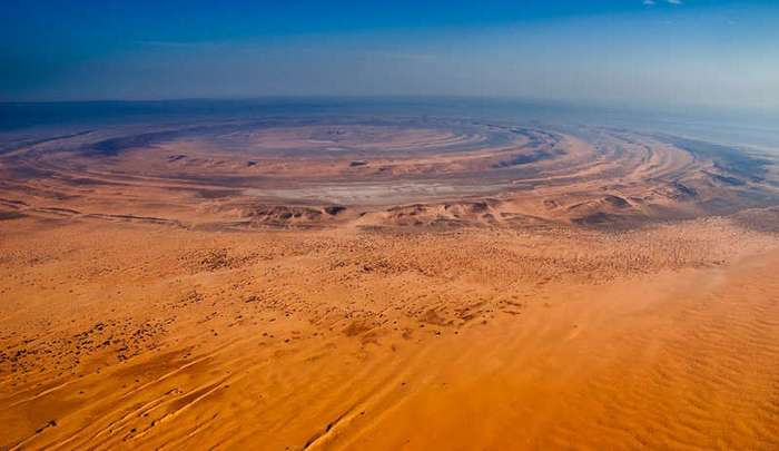 Глаз Сахары: самый загадочный объект Земли (5 фото)