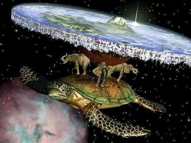 Как люди представляли Землю в древности (12 фото)