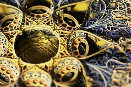 Бумажные шедевры Эрика Стэндли (10 фото)