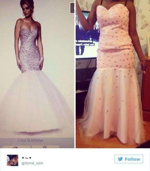 Девушки, которые пожалели о покупке выпускного платья в Интернет-магазине (23 фото)