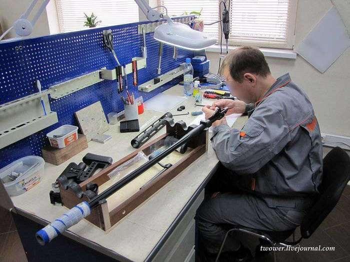 Оружейный завод ORSIS в Москве (25 фото)