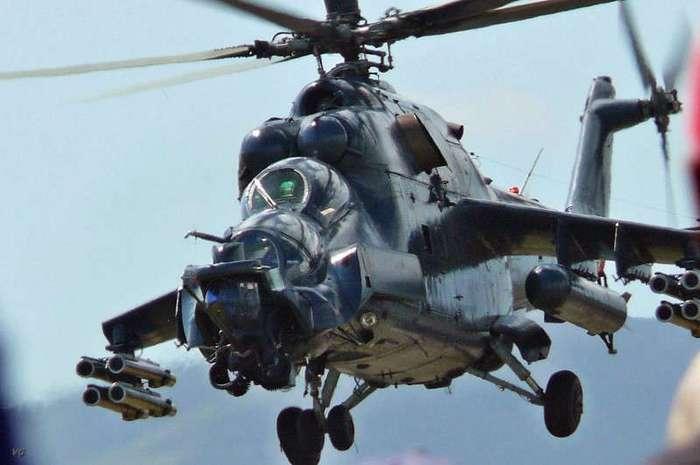 Легенда отечественной авиации Ми-24В -Крокодил- (6 фото)