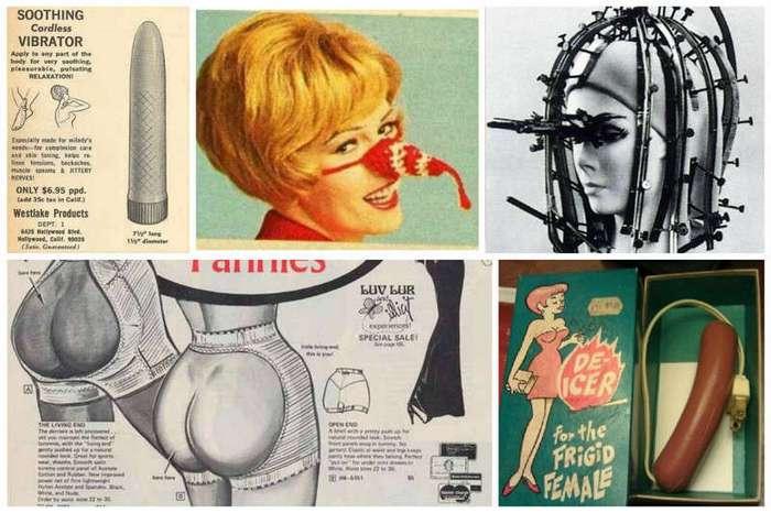 Невероятные, странные и удивительные женские хитрости из прошлого (16 фото)